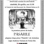 Invitatie teatru Pasarile